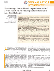 Developing a Lower Limb Lymphedema